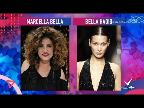Carla Gozzi – Look contro Look: Marcella Bella e Bella Hadid – Detto Fatto 06/05/2021