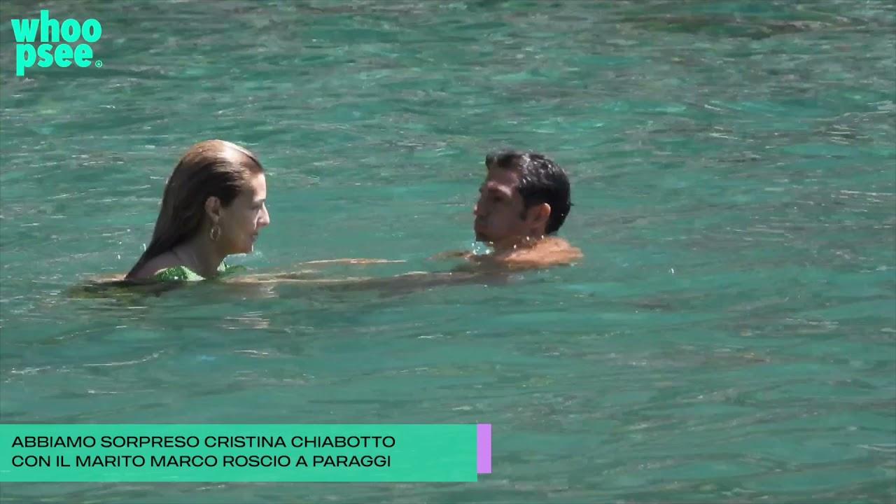 Cristina Chiabotto: vacanze e relax con Marco