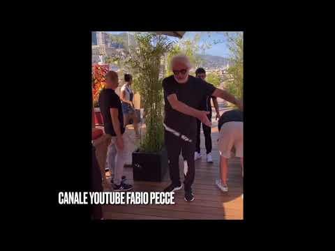 Flavio Briatore supervisiona i lavori del locale Crazy Plaza di Monaco #flaviobriatore