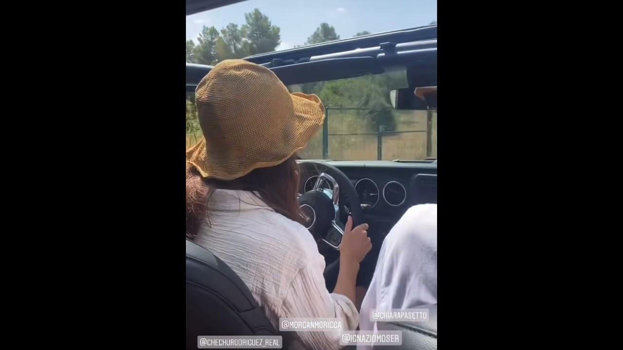 Ignazio Moser e Cecilia Rodriguez in vacanza prima in Jeep e poi in barca