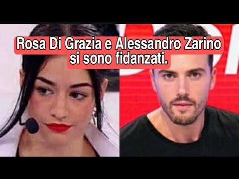 Rosa di Grazia e l'ex Tronista Alessandro Zarino stanno insieme avvistati in vacanza .