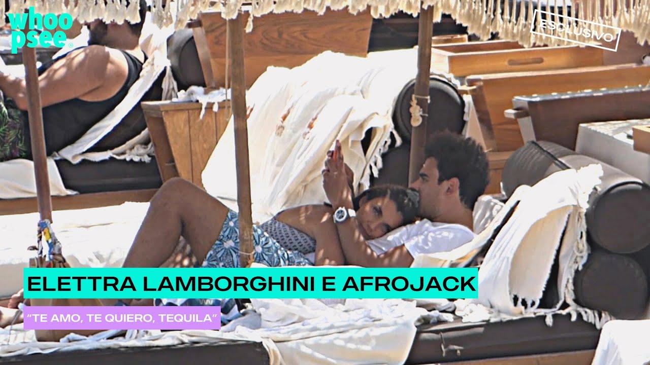 """Elettra Lamborghini e Afrojack, """"Te amo, te quiero, tequila"""""""