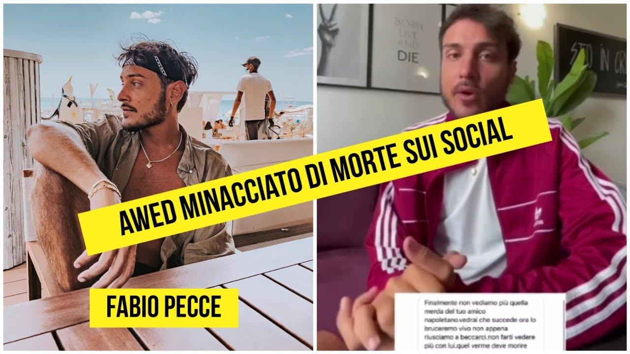 Simone Paciello in arte Awed sarebbe stato minacciato di morte sui social da un profilo fake