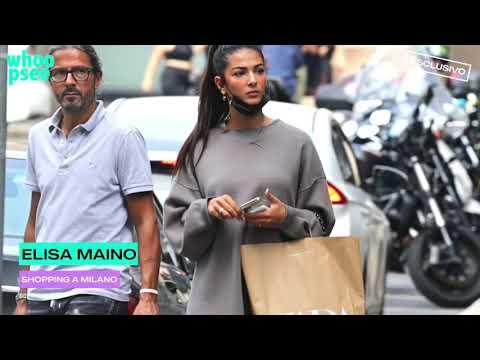 Elisa Maino: shopping a Milano