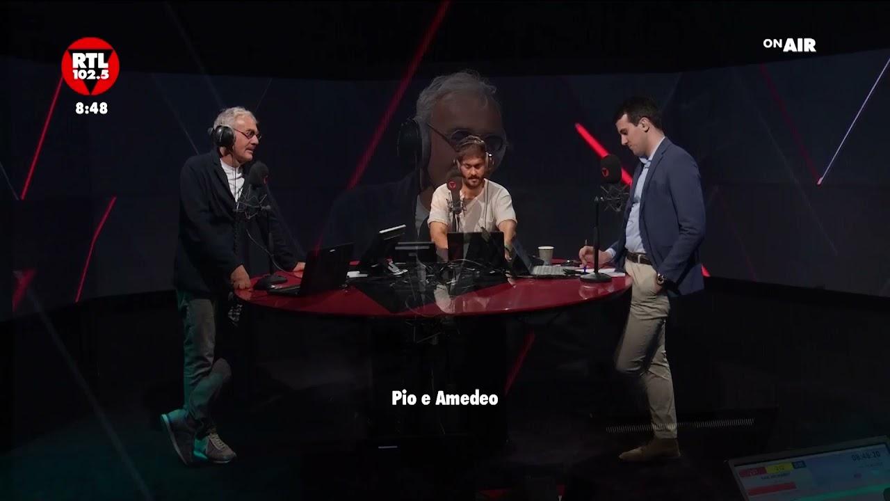 """Pio e Amedeo: Il duo comico ospite dei """"trecento secondi"""" in """"Giletti 102.5"""""""