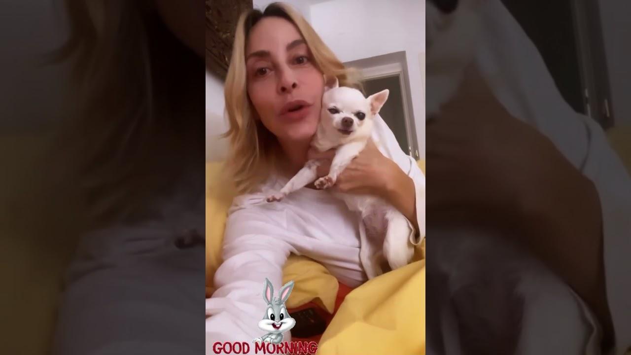 Buongiorno da Stefania Orlando dopo la vita in diretta #stefaniaorlando